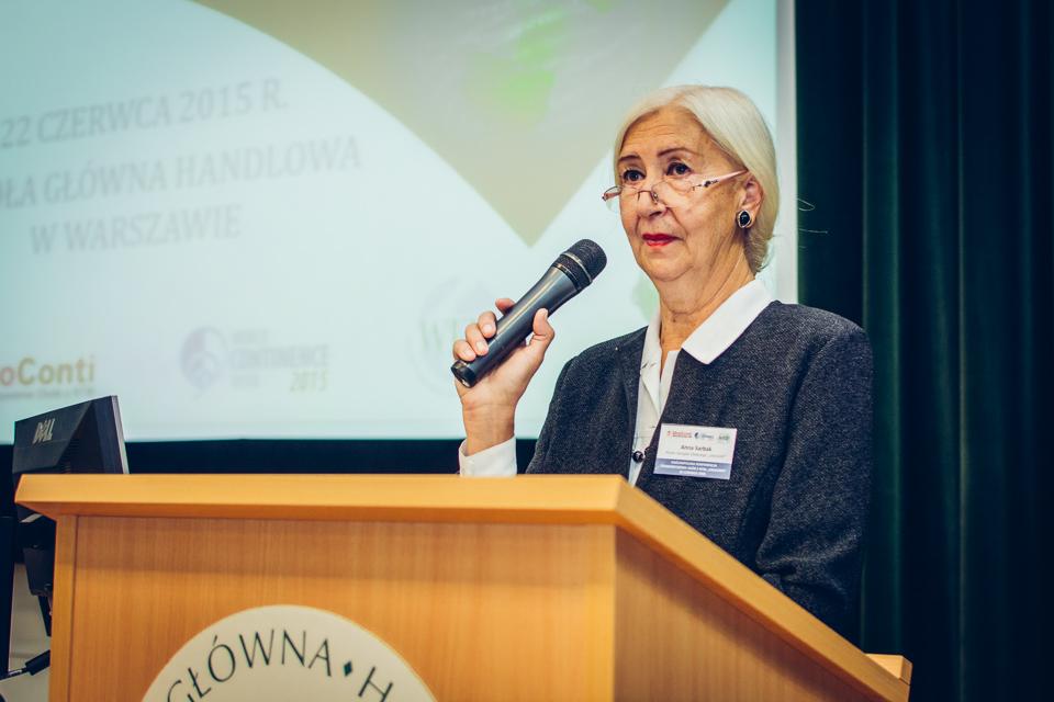 Anna Sarbak, Prezes Zarządu Głównego UroConti